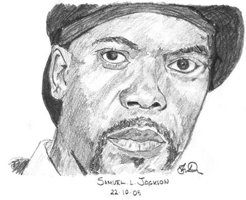 Samuel L. Jackson by Smidge